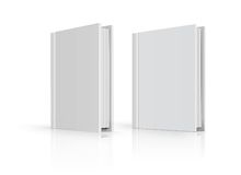 Blank book cover Stock Images