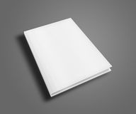 Blank Book Cover Template. Stock Photography