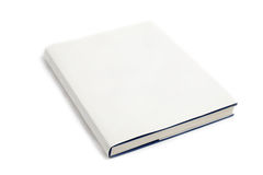 Blank book cover white Royalty Free Stock Images