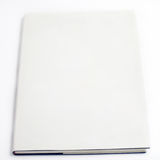 Blank book cover white Royalty Free Stock Image