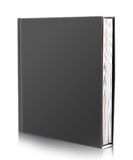 Blank book cover on white Stock Photos