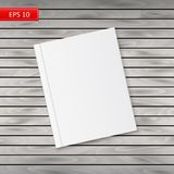 Blank book cover Royalty Free Stock Images