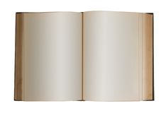 Blank Book, Isolated Stock Image