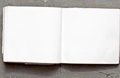 Blank book Stock Photo