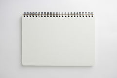 Blank book. With soft shadows  on white Stock Photography