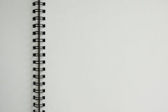 Blank book to write Royalty Free Stock Image