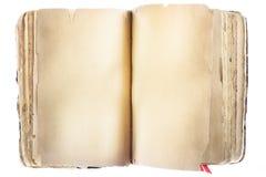 Blank Book on white Royalty Free Stock Photo