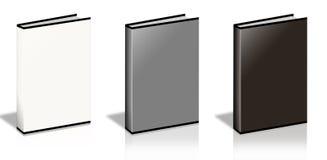 Blank Book. On white background Stock Photos