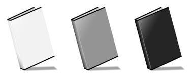 Blank Book. On white background Royalty Free Stock Photos