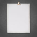 Blank book and wrinkled paper background Stock Photo