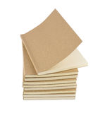 Blank books for free style writing and drawing Stock Image