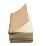 Blank books for free style writing and drawing Royalty Free Stock Photography