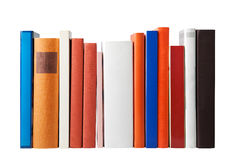 Blank books on white Royalty Free Stock Images
