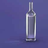 Blank bottle Royalty Free Stock Photo