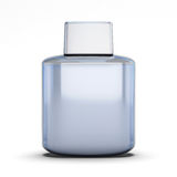 Blank bottle of aftershave Royalty Free Stock Images