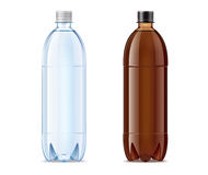 Blank bottles Stock Photo