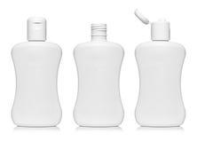 Blank bottles set Stock Photos