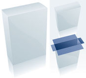 Blank Box 1. Vector Drawing Royalty Free Illustration