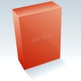 Blank Box 2. Vector Drawing Royalty Free Stock Photo