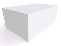 Blank box 3d Royalty Free Stock Images