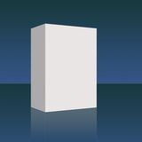 Blank Box Blue Royalty Free Stock Photography