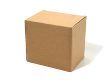 Blank box cardboard Royalty Free Stock Photo