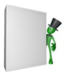 Blank box Royalty Free Stock Photo