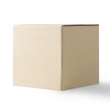 Blank Box isolated on white Royalty Free Stock Photos
