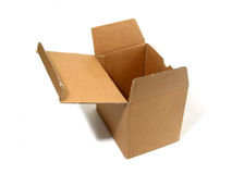 Blank box open Royalty Free Stock Photography
