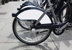 blank brännmärka panel för cyklar Arkivfoton