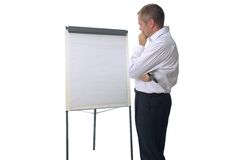 Blank brainstorm Royalty Free Stock Photo
