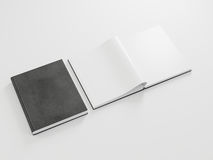 Blank branding elements mockup on white background. 3d rendering Royalty Free Stock Photos