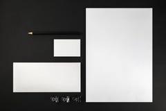 blank brevpapper Royaltyfri Bild
