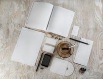 blank brevpapper Royaltyfria Foton