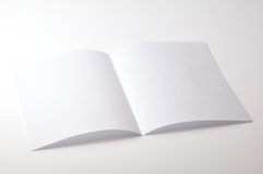 Blank brochure Stock Photos