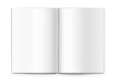Blank brochure Stock Photos