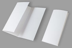 Blank Brochure Stock Images
