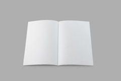 Blank Brochure Royalty Free Stock Images