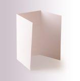 Blank brochure Stock Photography