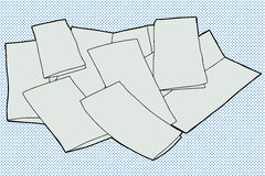 Blank Brochures Royalty Free Stock Photos