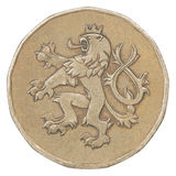 Blank bronze coin Stock Photography