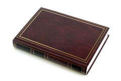 Blank brown book Royalty Free Stock Photo