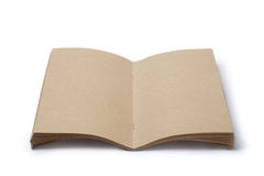 Blank brown notepad Stock Photography