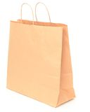 Blank brown paper bag Stock Photography