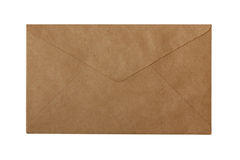 Blank brown paper envelope Royalty Free Stock Image