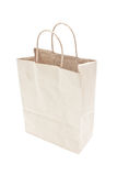 Blank Brown Paper Shopping Bag. Stock Image