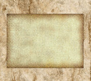 Blank brown template Royalty Free Stock Image