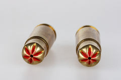Blank bullets Stock Image