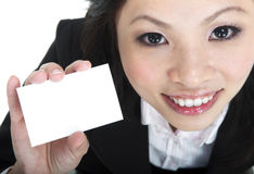 Blank business card Stock Photos
