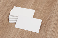 Blank Business Card Royalty Free Stock Image